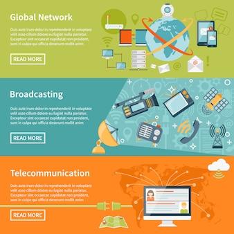 Телекоммуникационные баннеры