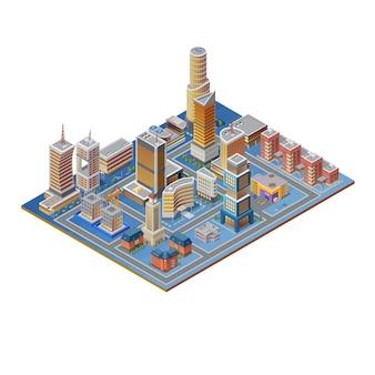 Изометрические строительный набор