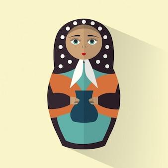 マトリョーシカ人形の背景