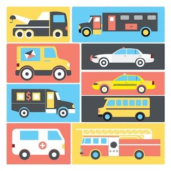 輸送車両コレクション