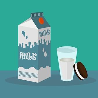 朝食の背景デザイン
