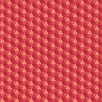 抽象的な六角形のシームレスなパターンのベクトルの背景