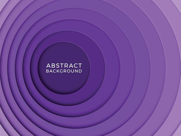 Абстрактный многоцветный фон с круглыми слоями бумаги