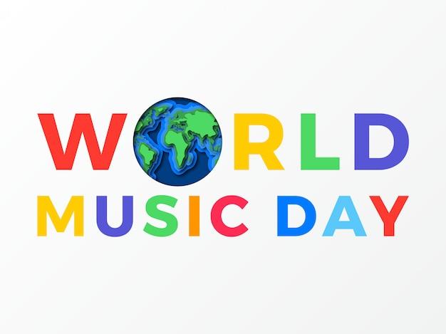Всемирный день музыки баннер.