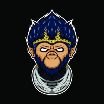 神秘的な猿