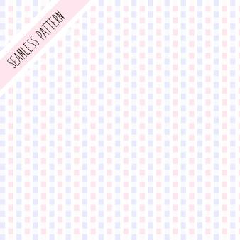 ピンクと紫の幾何学的図形のシームレスパターン
