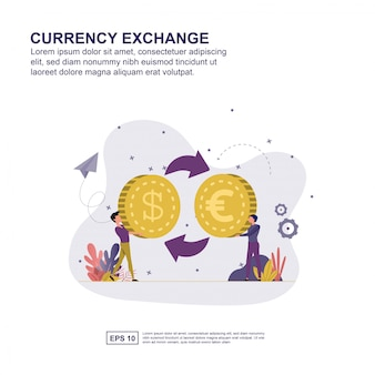 通貨交換のコンセプト