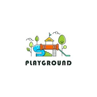 Логотип детской площадки
