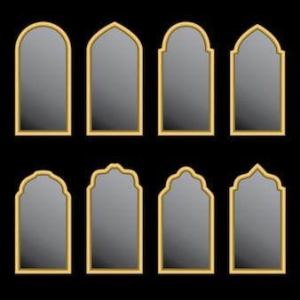 アラビアの窓の形