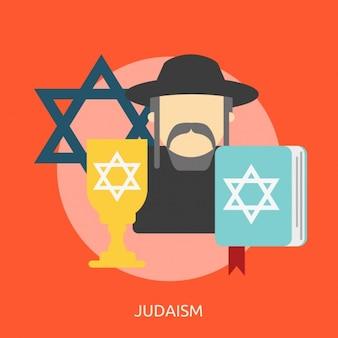 ユダヤ教の背景デザイン