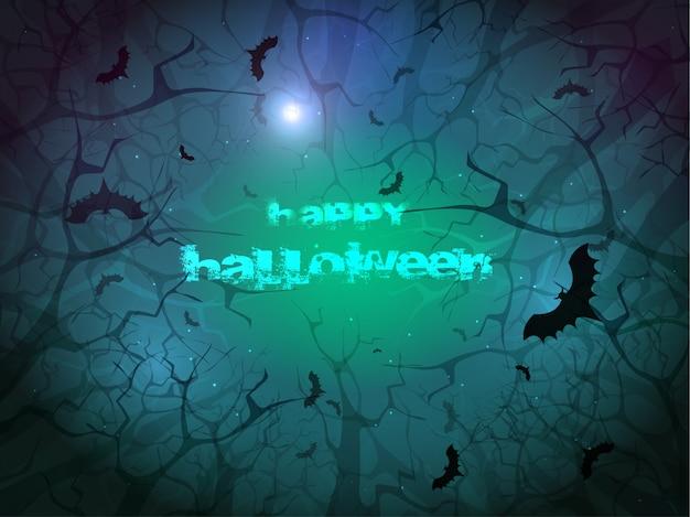 ハロウィンの背景。
