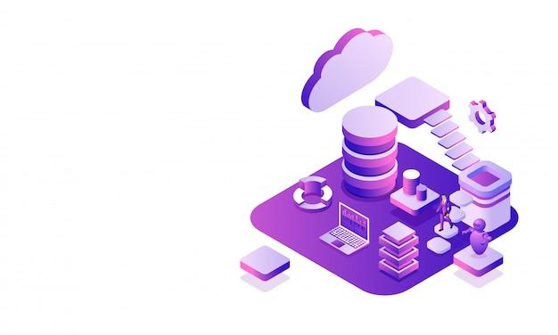 データセンタープラットフォーム。