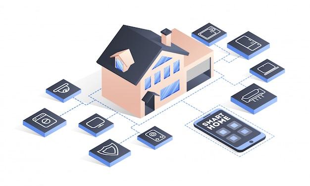 スマートホームテクノロジー。