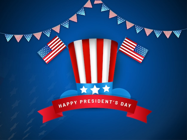 ハッピー大統領の日の背景。