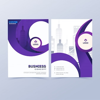 Профессиональный дизайн бизнес обложки.