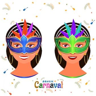 Фон карнавал.