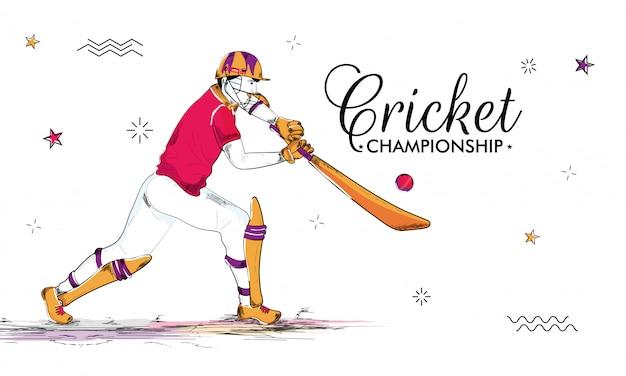 クリケットの概念の背景。