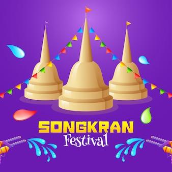 Концепция фестиваля сонгкран.