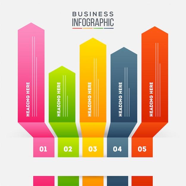 ビジネスのインフォグラフィック。