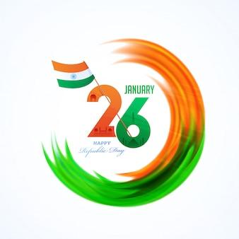インド共和国記念日カード