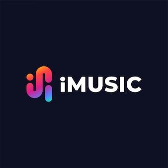 音楽ロゴデザインテンプレート