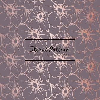 Цветочный узор с цветами