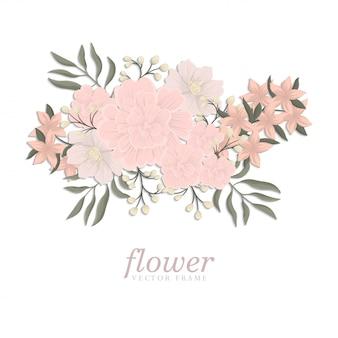 Модный бесшовный цветочный узор в векторной иллюстрации