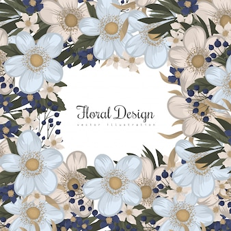 Весенний цветок пансионер - светло-голубой цветок