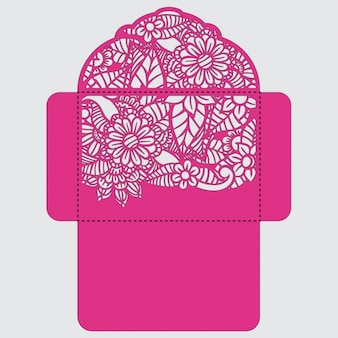 封筒テンプレートデザイン