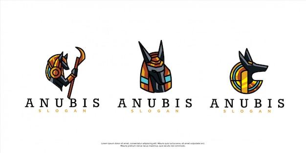 アヌビスのロゴのパック
