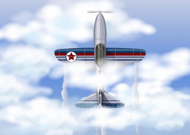 Военные самолеты в небе
