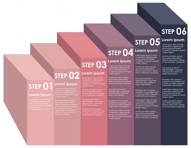 По возрастанию информации шаг инфографический