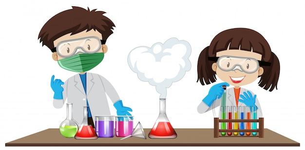 Эксперимент студентов в лабораторном классе