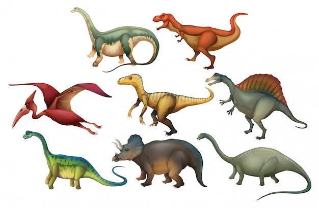 Набор дифференциальных динозавров