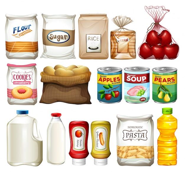 Набор элементов для выпечки