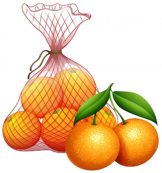 Мешок мандарина