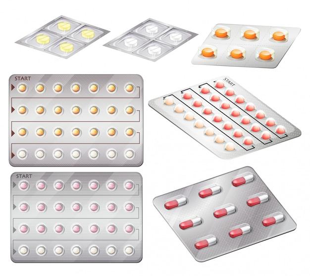 避妊薬のセット