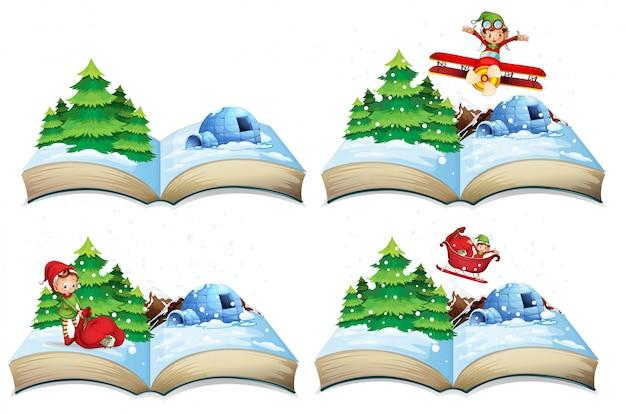 冬の風景の本
