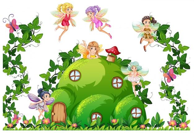 丘の家の妖精