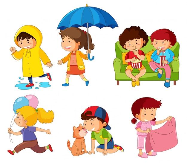 Набор символов для детей