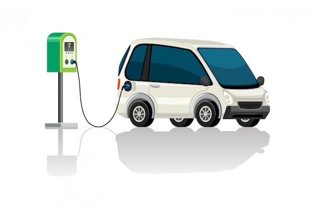 電気自動車充電ステーション