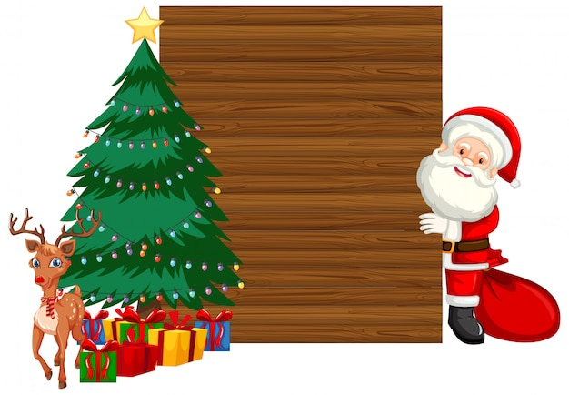 木製クリスマスフレームのコンセプト