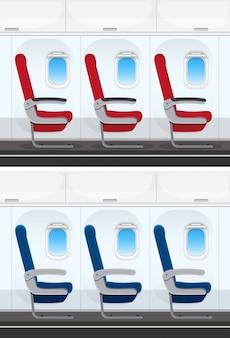 Комплект компоновки сидений самолета