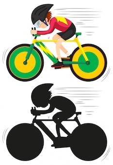 サイクリング選手のキャラクター