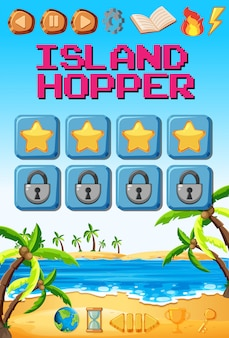 Шаблон островной игры
