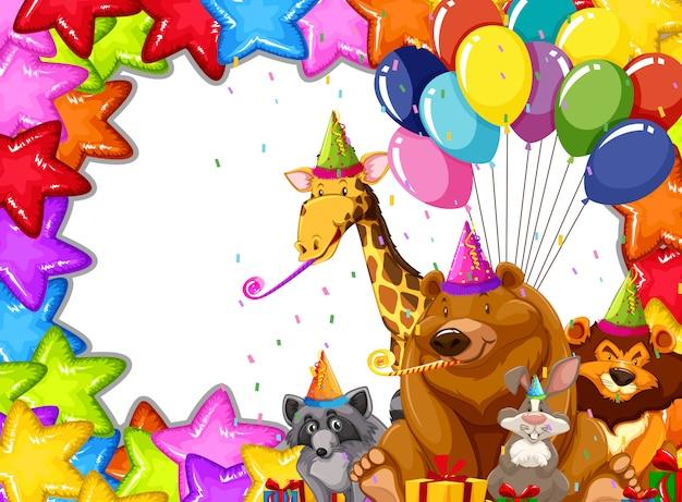 パーティー動物カードのコンセプト