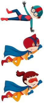 Набор супергероев для детей