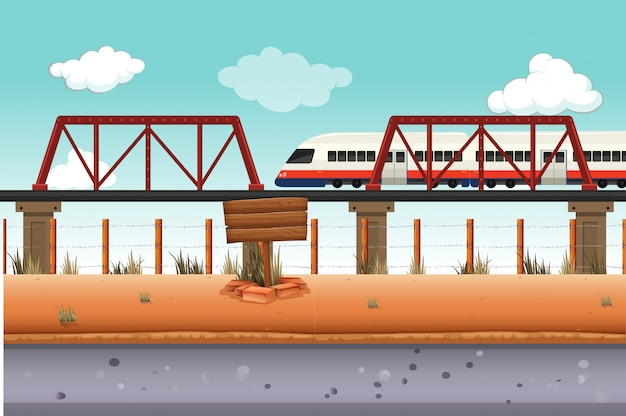 Поезд в сельскую местность