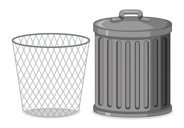 ゴミ箱のセット