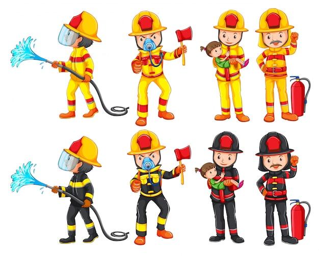 消防士の文字セット